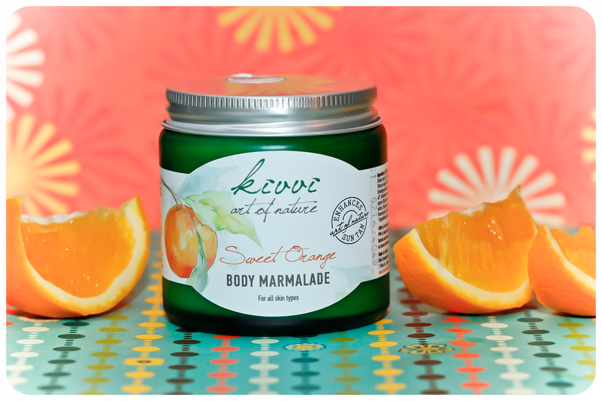 kivvi body marmalade sweet orange titel