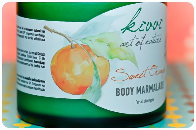 kivvi body marmalade sweet orange zeichnung
