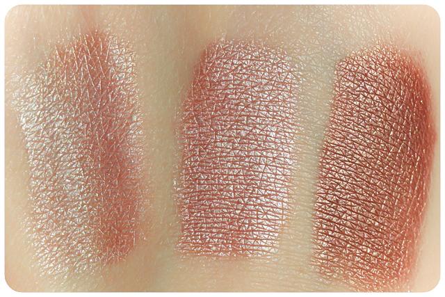 sante eyeshadow trio rose wood