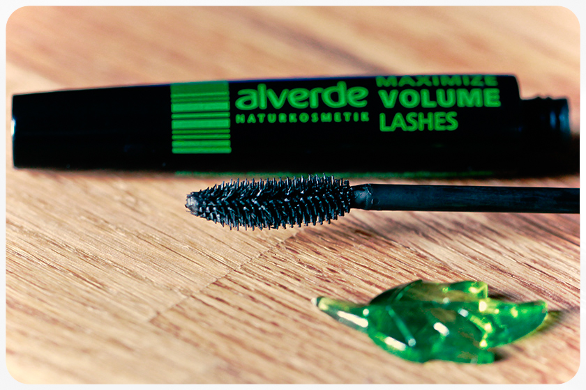 alverde mascara volume lashes