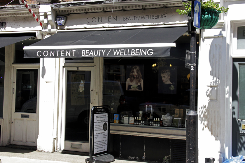 being content london