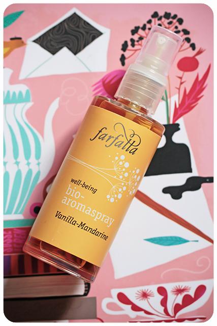 farfalla bio-aromaspray vanilla mandarine