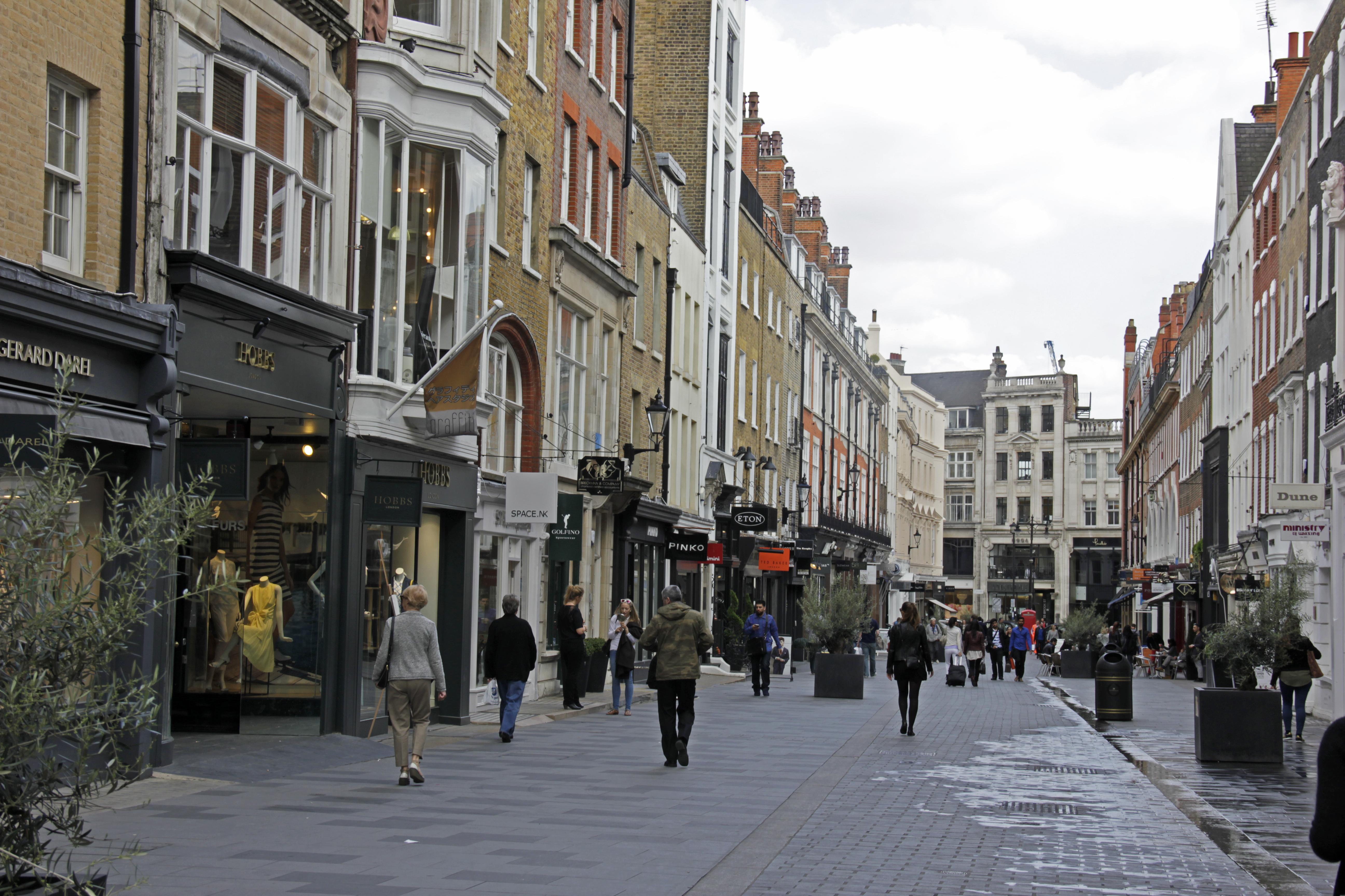 london near bond street