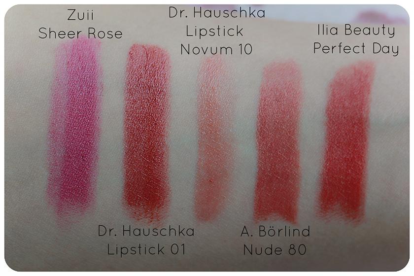 naturkosmetik lippenstift dr hauschka börlind ilia beauty zuii