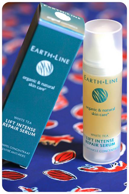 earth line white tea lift intense repair serum