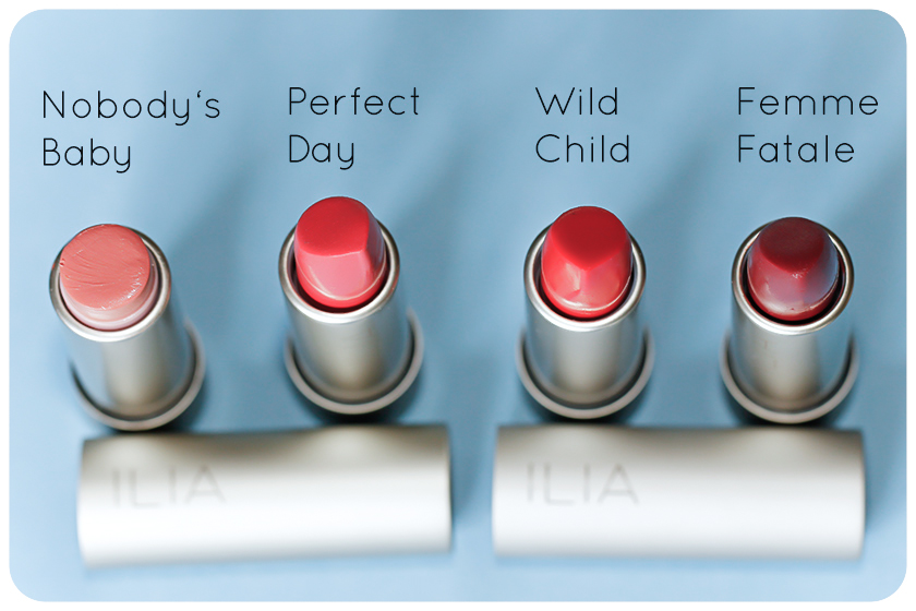 ilia beauty lipsticks