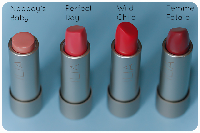 ilia beauty lipsticks