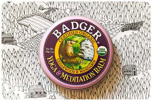 badger balm yoga and meditation