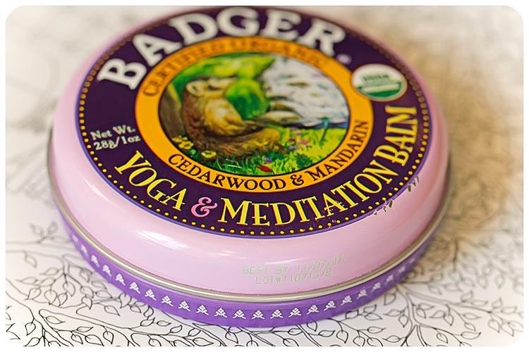 badger balm yoga and meditation