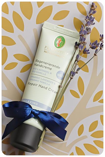 primavera regenierende handcreme lavendel vanille