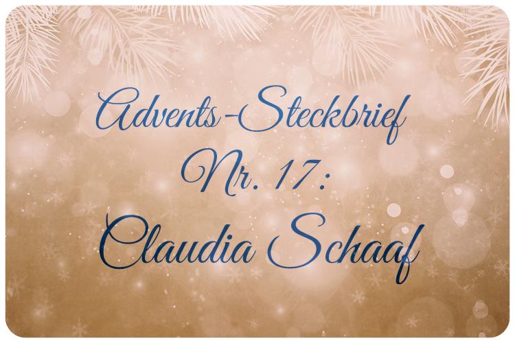 Adventskalender Claudia Schaaf
