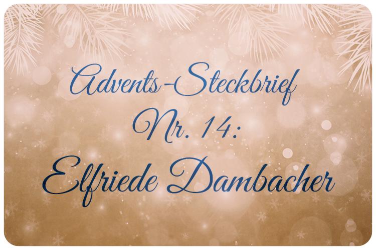 Adventskalender Elfriede Dambacher