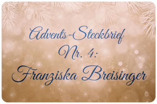 Adventskalender Franzi Breisinger