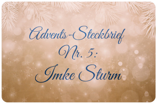 Adventskalender Imke Sturm