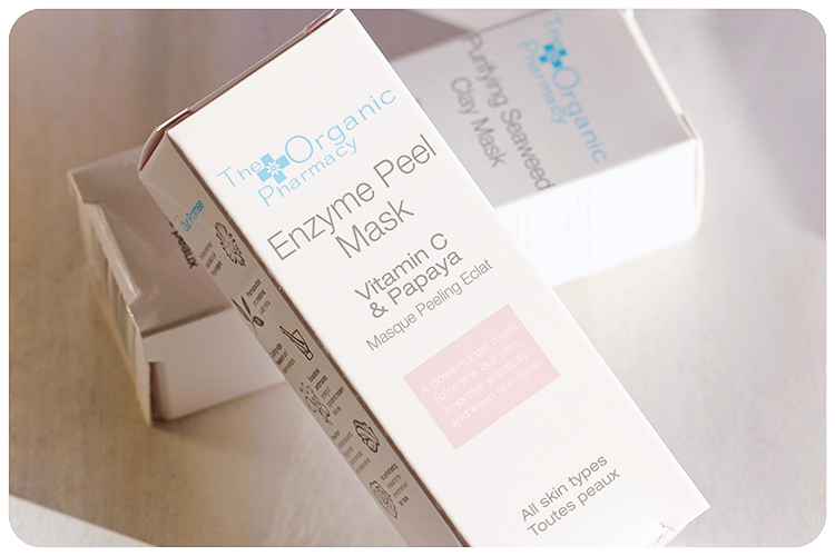 the organic pharmacy enzyme peel pask
