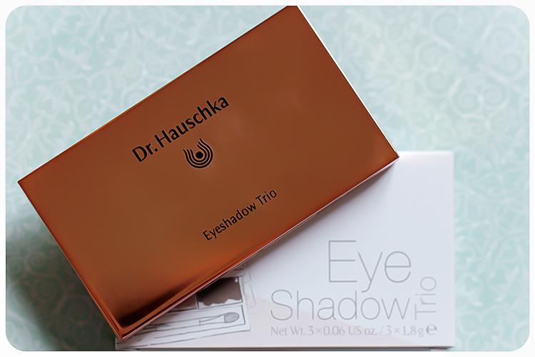 dr hauschka comeback LE eyeshadow trio