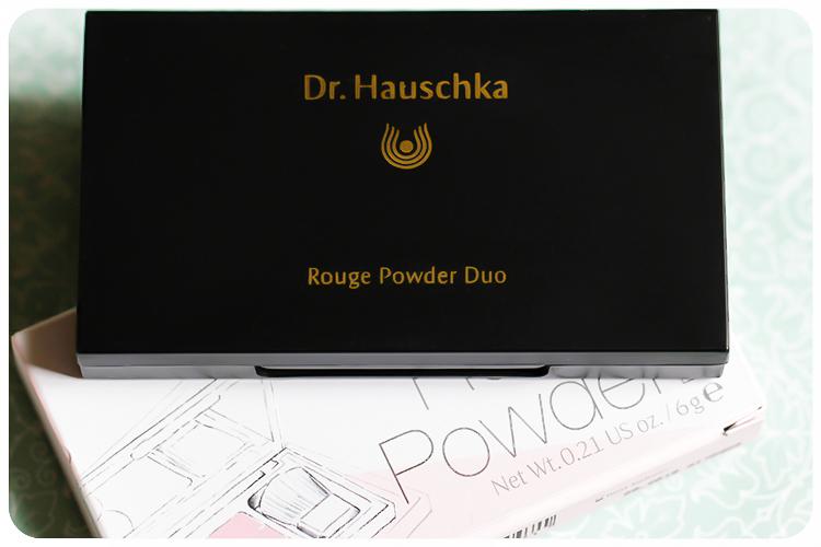 dr hauschka comeback LE rouge powder duo