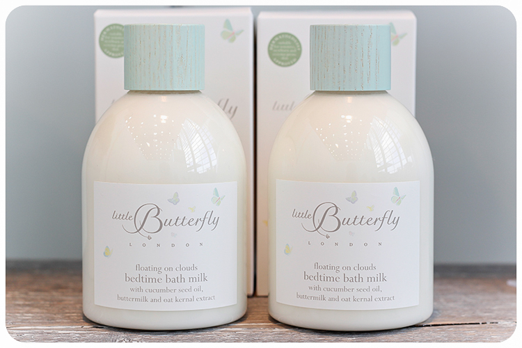 little butterfly bedtime bath milk