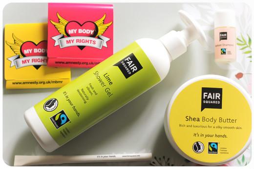 fair squared body butter und shower gel