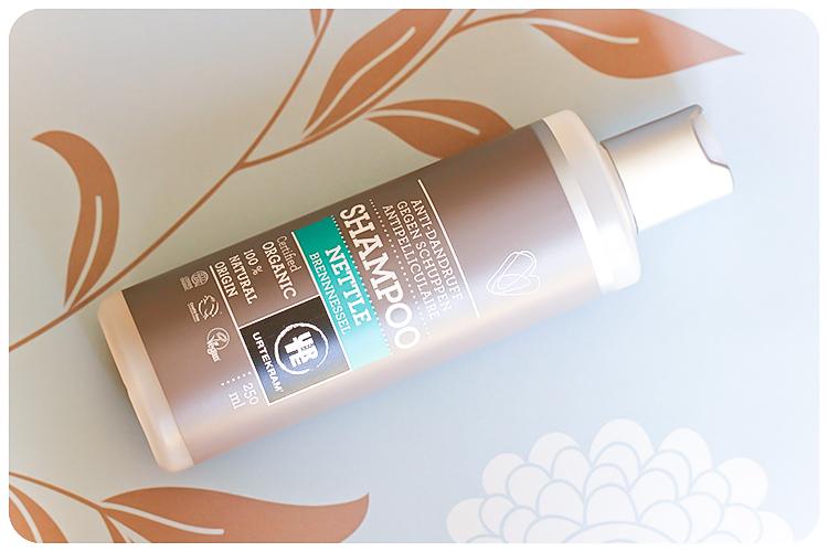 urtekram bennnessel shampoo anti schuppen