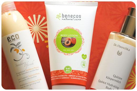 fruchtige bodylotion benecos dr hauschka eco cosmetics