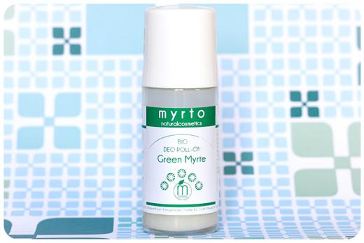 myrto bio deo roll on green myrte