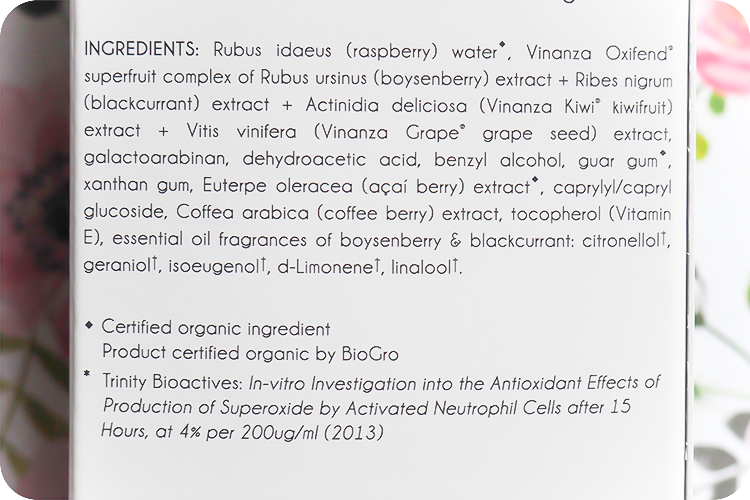 antipodes worship superfruit antioxidant serum inci