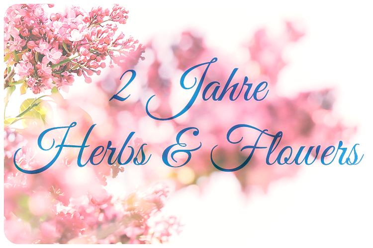 herbs & flowers bloggeburtstag