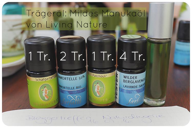 naturdrogerie bloggertreffen aroma rollon