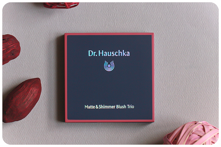 Dr Hauschka Matte and Shimmer Blush Trio Welcome Back LE