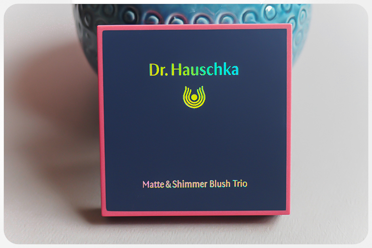 Dr Hauschka Matte and Shimmer Blush Trio Welcome Back LE-2