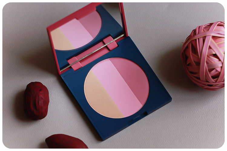 Dr Hauschka Matte and Shimmer Blush Trio Welcome Back LE_