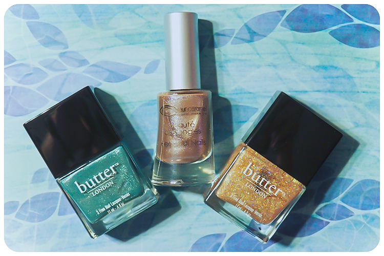 couleur caramel butter london nagellack