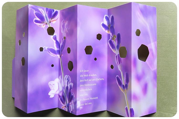 Dr Hauschka Körperöle Herbst LE 2016 Moor Lavendel Teelichtschirme