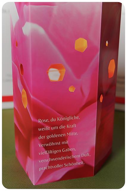Dr Hauschka Körperöle Herbst LE 2016 Rose Teelichthalter