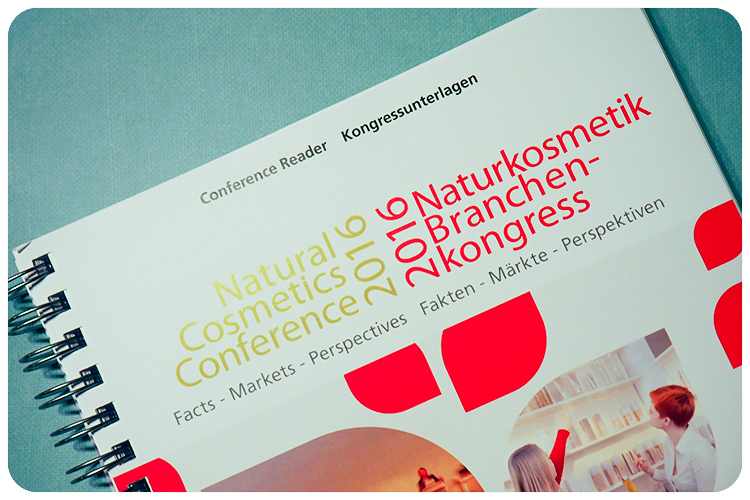 Naturkosmetik Branchenkongress 2016
