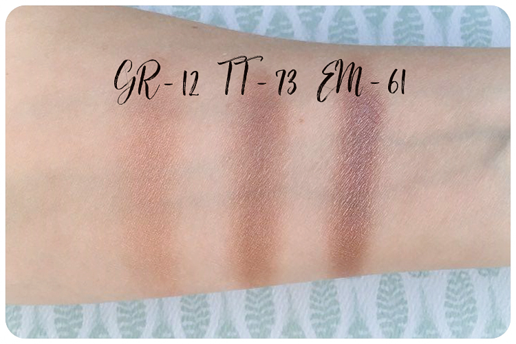 rms beauty eyeshadows swatches