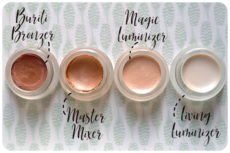 rms beauty magic luminizer master mixer living luminizer buriti bronzer