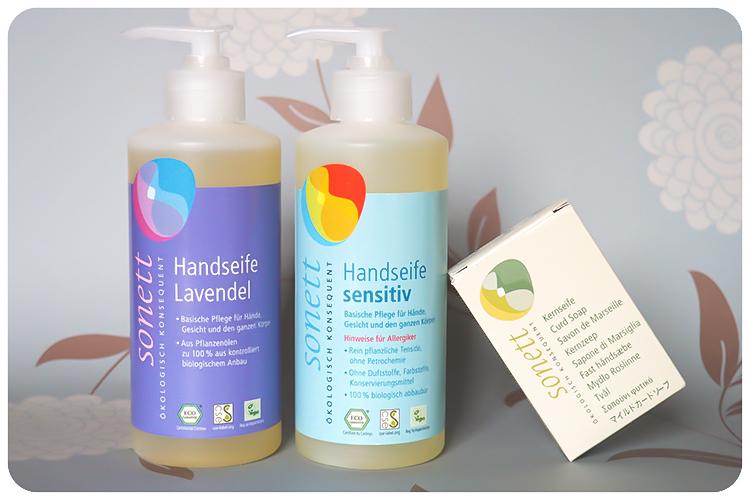 sonett handseife sensitiv handseife lavendel kernseife