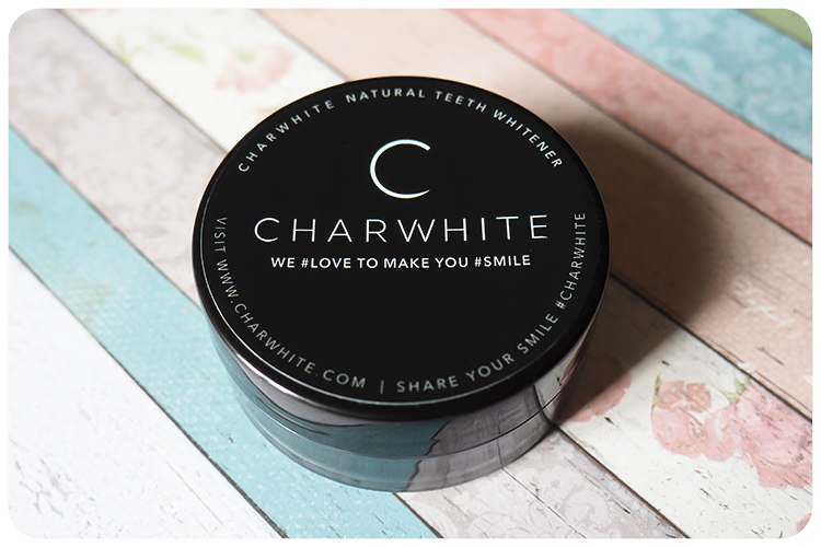 charwhite natural teeth whitener