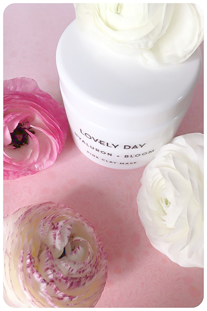 lovely day hyaluron and bloom pink clay mask 5
