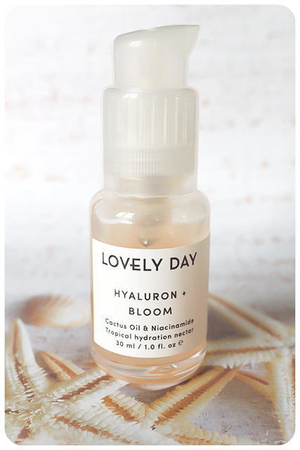 lovely day hyaluron and bloom nectar