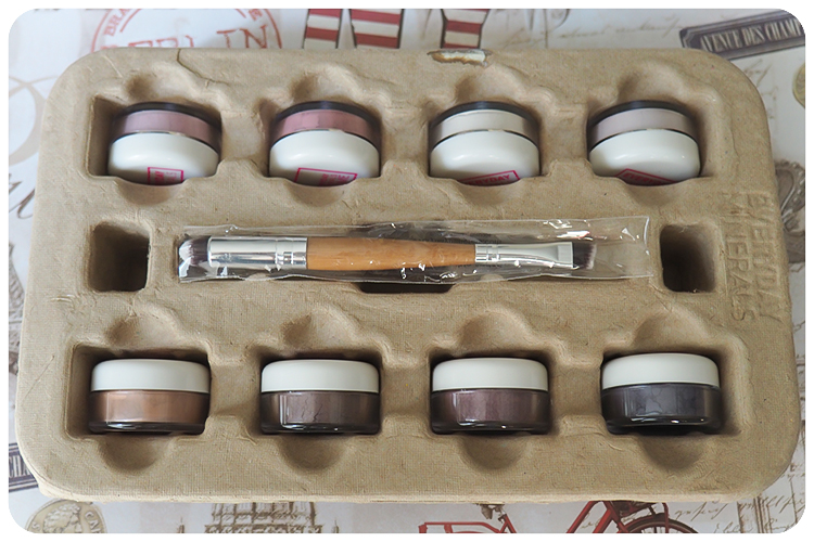every day minerals makeup diary london makeup kit