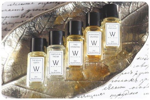 walden natural perfume gift set