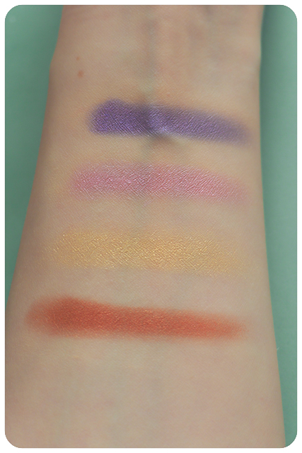 miss trucco swatches
